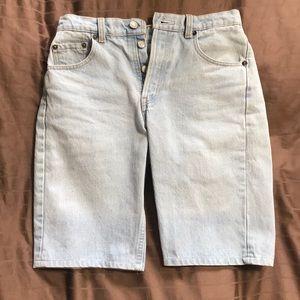 Vintage Levi's 501 Bermuda Short